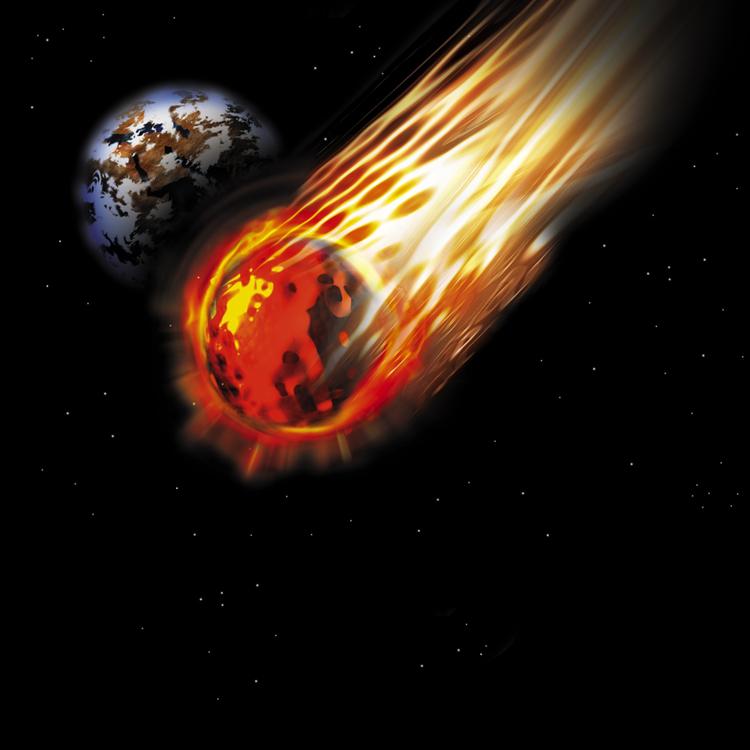 Fiery Meteor