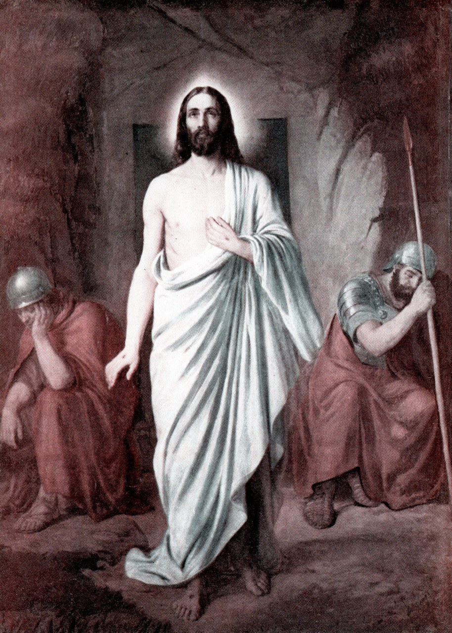 Christ's resurrection was a witnessed fact, not a later fantasy