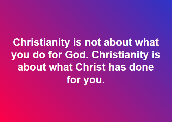 What Christianity Is About
