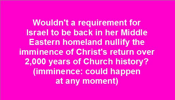 Imminence of Christ's Return